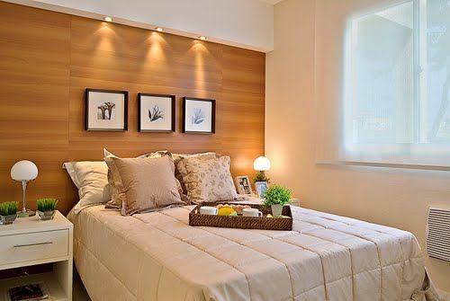 15 habitaciones de parejas peque as que despertar n tu - Decoracion habitacion individual ...