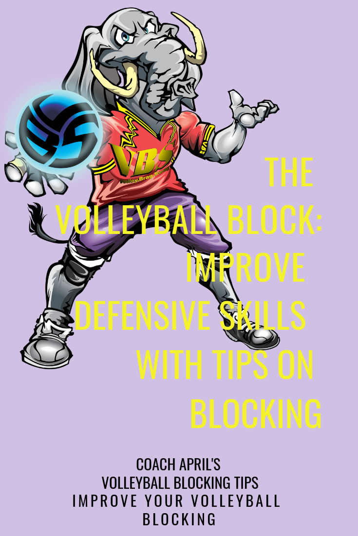 The Volleyball Block Improve Defensive Skills With Tips On Blocking Coaching Volleyball Volleyball Volleyball Tips