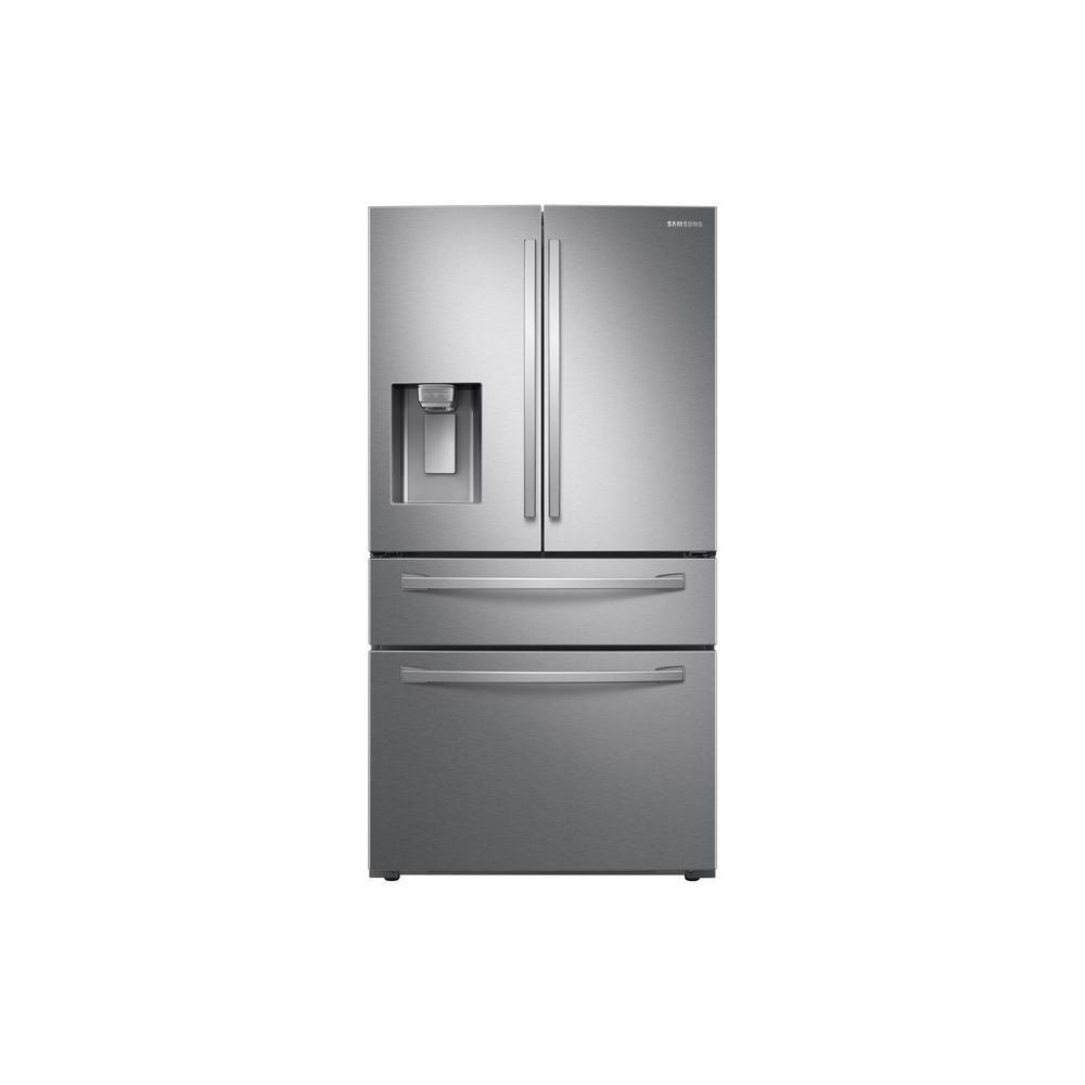 33 Inch Counter Depth Refrigerator Rf18hfenbsr Samsung Us Counter Depth French Door Refrigerator French Door Refrigerator Best Counter Depth Refrigerator