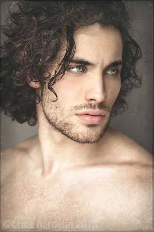 Curly Men Hairstyles Ideas For Long Face Curly Hair Men Best Beard Styles Beard Styles For Men