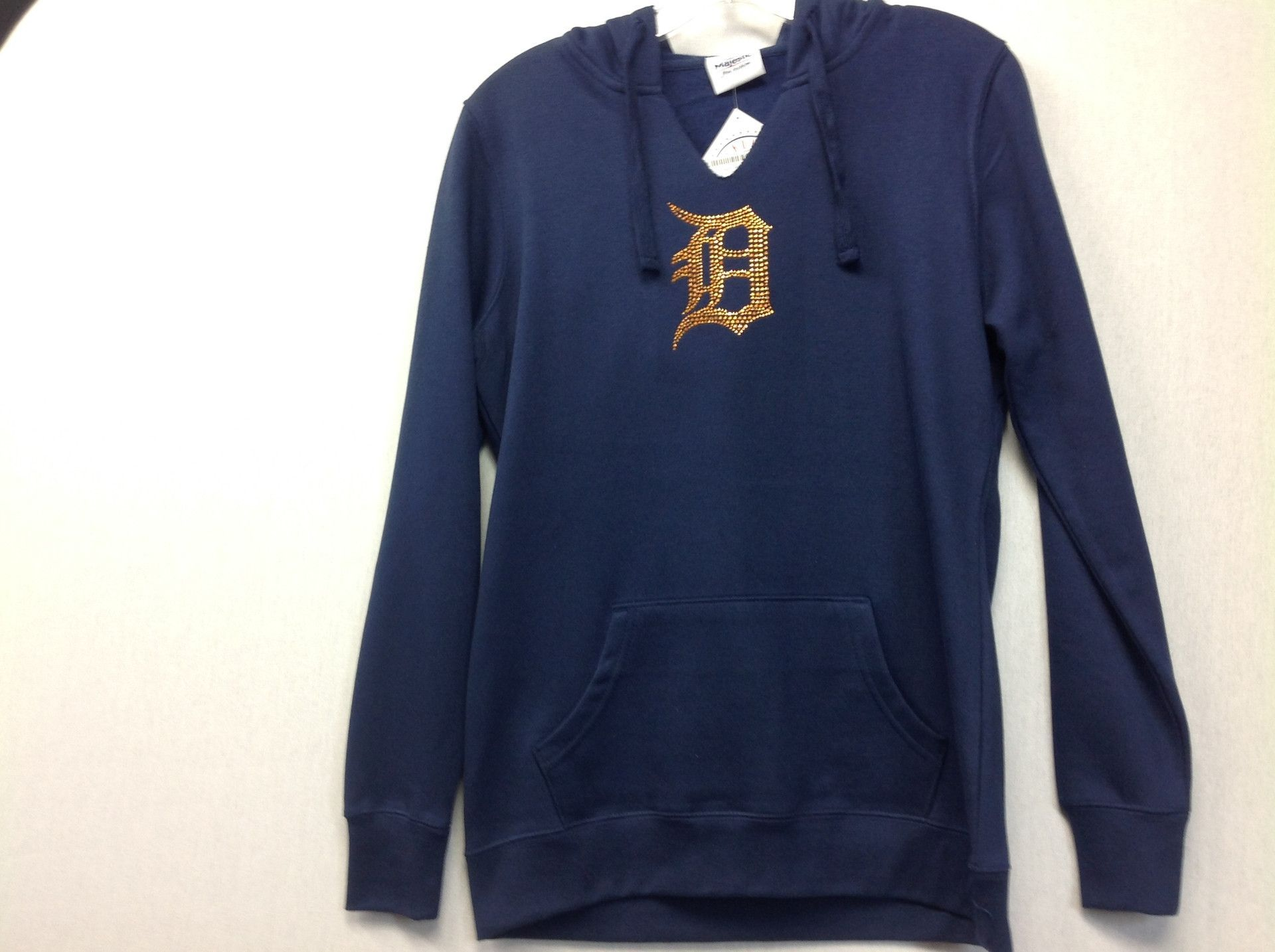 sports shoes e82f7 ec6c3 MLB Detroit Tigers Women's Dream of Diamonds Pullover Hoodie ...