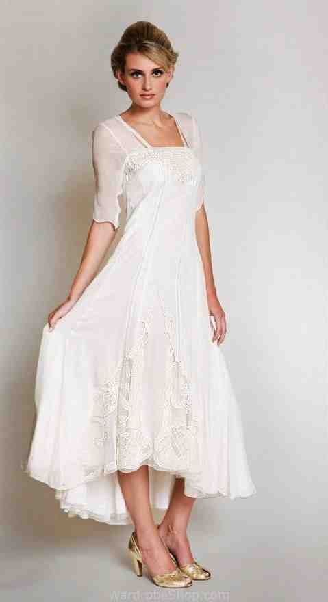 Informal Wedding Dresses For Older Brides: Wedding Dresses For Brides Over 50