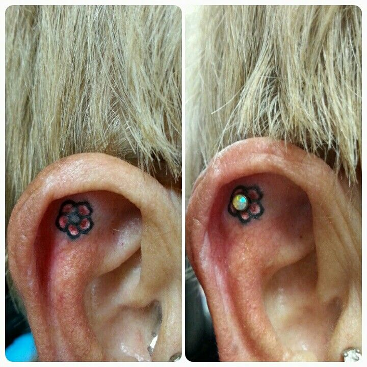 Tattoo and piercing mix