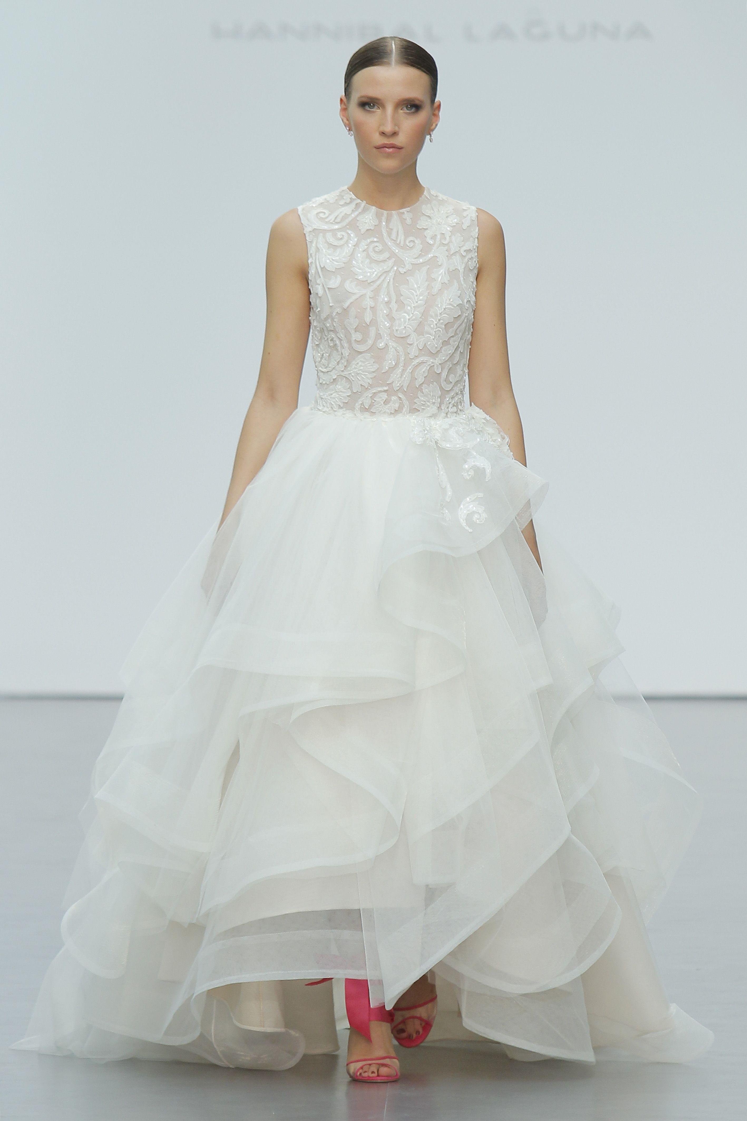 Hannibal Laguna inaugura Pasarela Costura España - Madrid Bridal Week