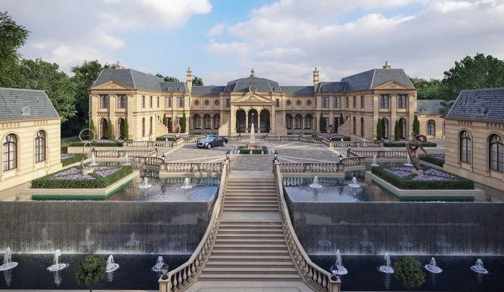 Amazing Gigantic Mega Mansion Design Proposal Mansions