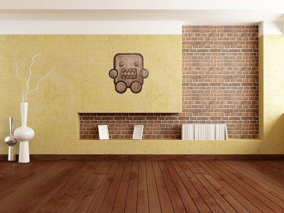 Wood Domo Kun Sign - Anime Wall Decor - Japanese Wall Art - Eco gift ...