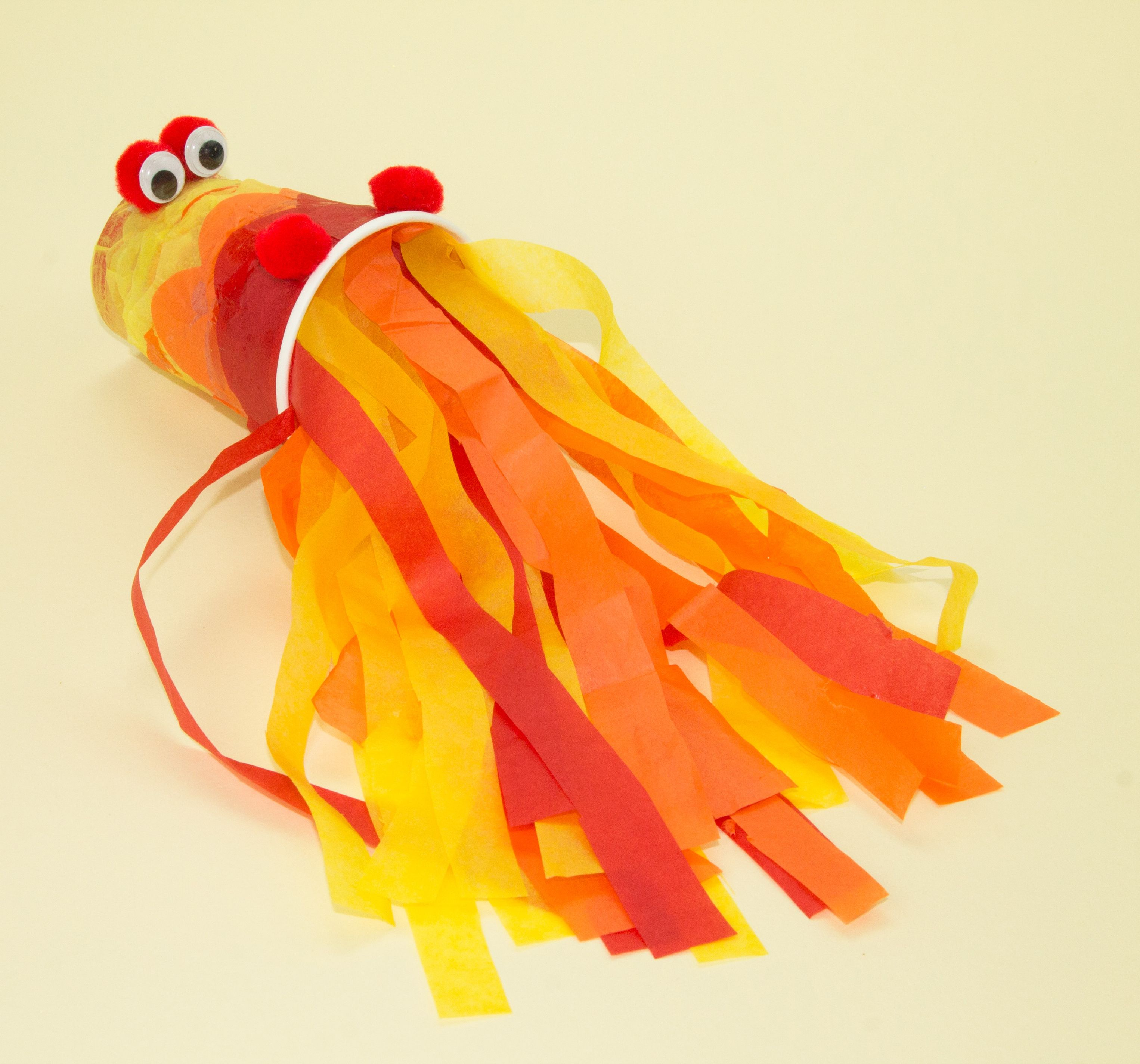Fire Breathing Dragon Craft - this easy craft is a great afternoon ...