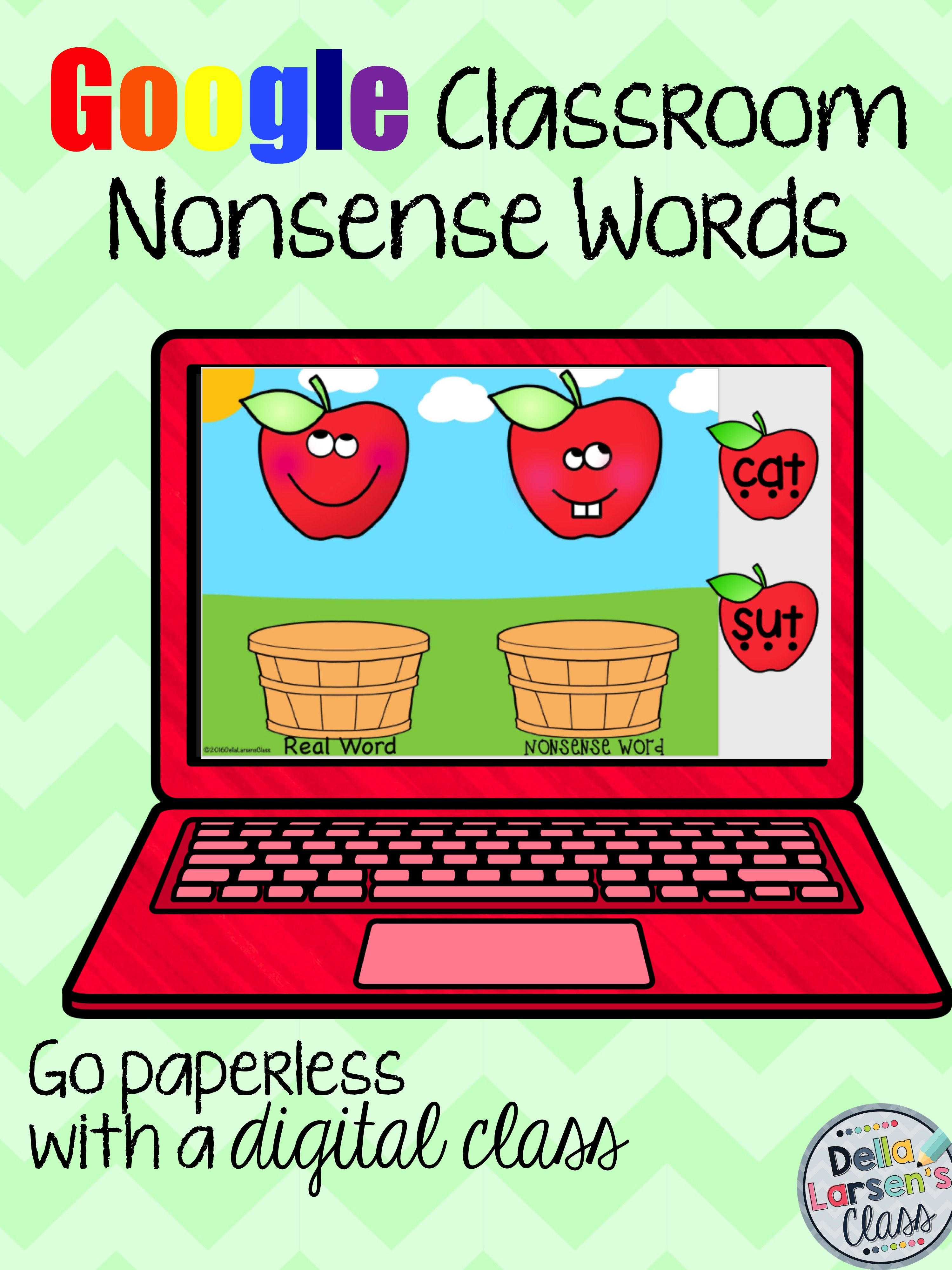 Classroom September Nonsense Words Distance