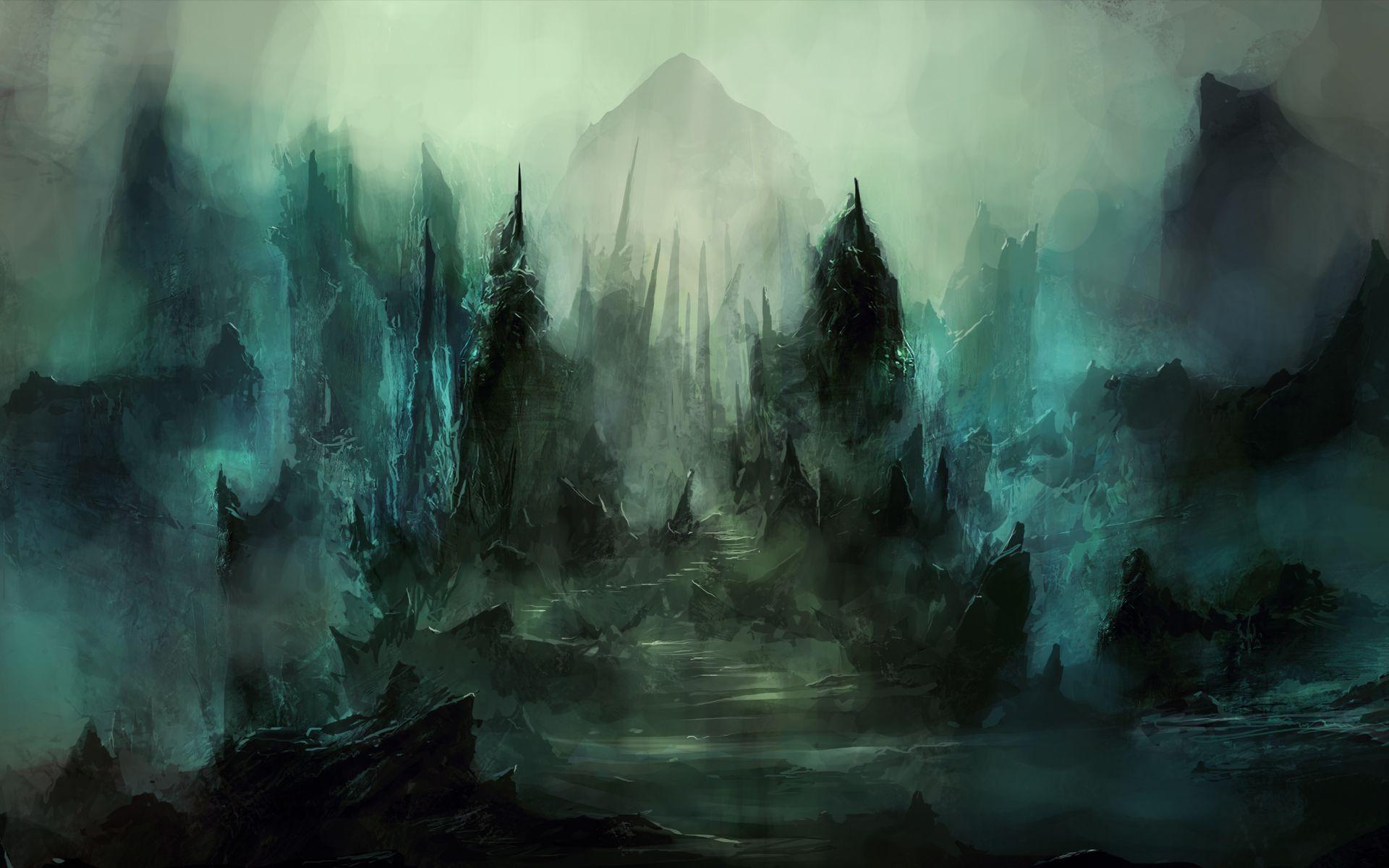 Fantasy Art Dead City