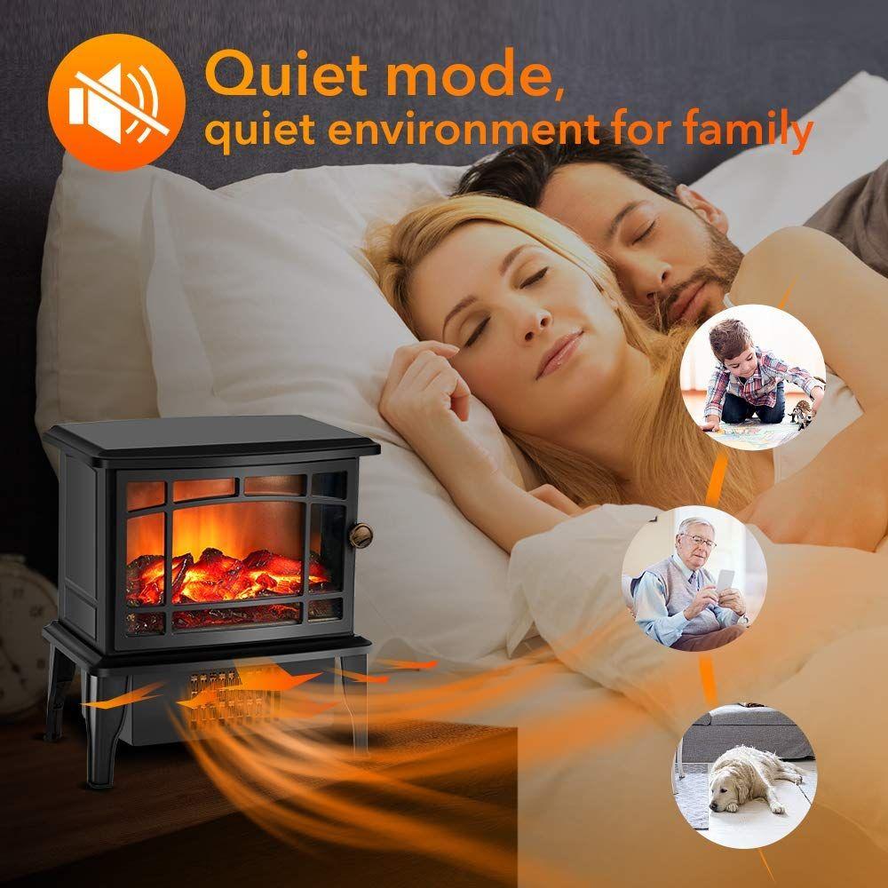 Amazon Com Portable Fireplace Heater Fireplace Decoration 3d Flame Heater 10 X 9 500w Elect Portable Fireplace Portable Electric Fireplace Heating Systems