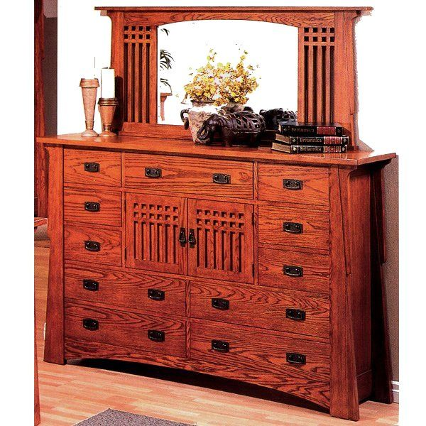 mission and chest prairie drawer item dresser drawers landscape products mastercraft of mr b mirror style d