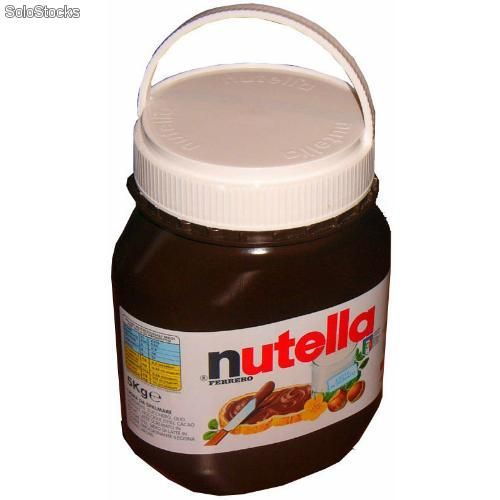 nutella jar nutella 5kg jar nutella pinterest nutella jar and nutella. Black Bedroom Furniture Sets. Home Design Ideas