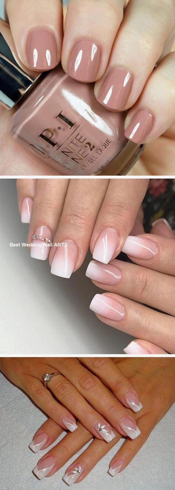 10 Best Bridal Nail Polishes | Wedding nail colors, Opi