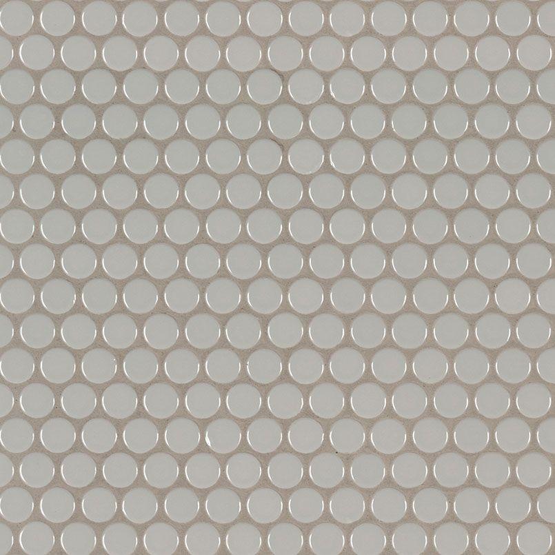 ngrapenrou gray glossy penny round mosaic mosaics penny rounds rh pinterest com