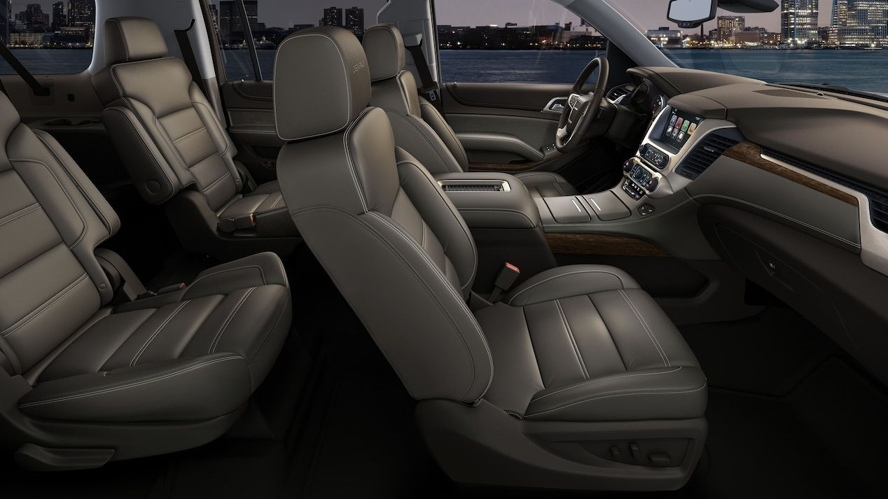 Interior Image Of The 2018 Gmc Yukon Denali Full Size Luxury Suv Gmc Yukon Yukon Denali Luxury Suv