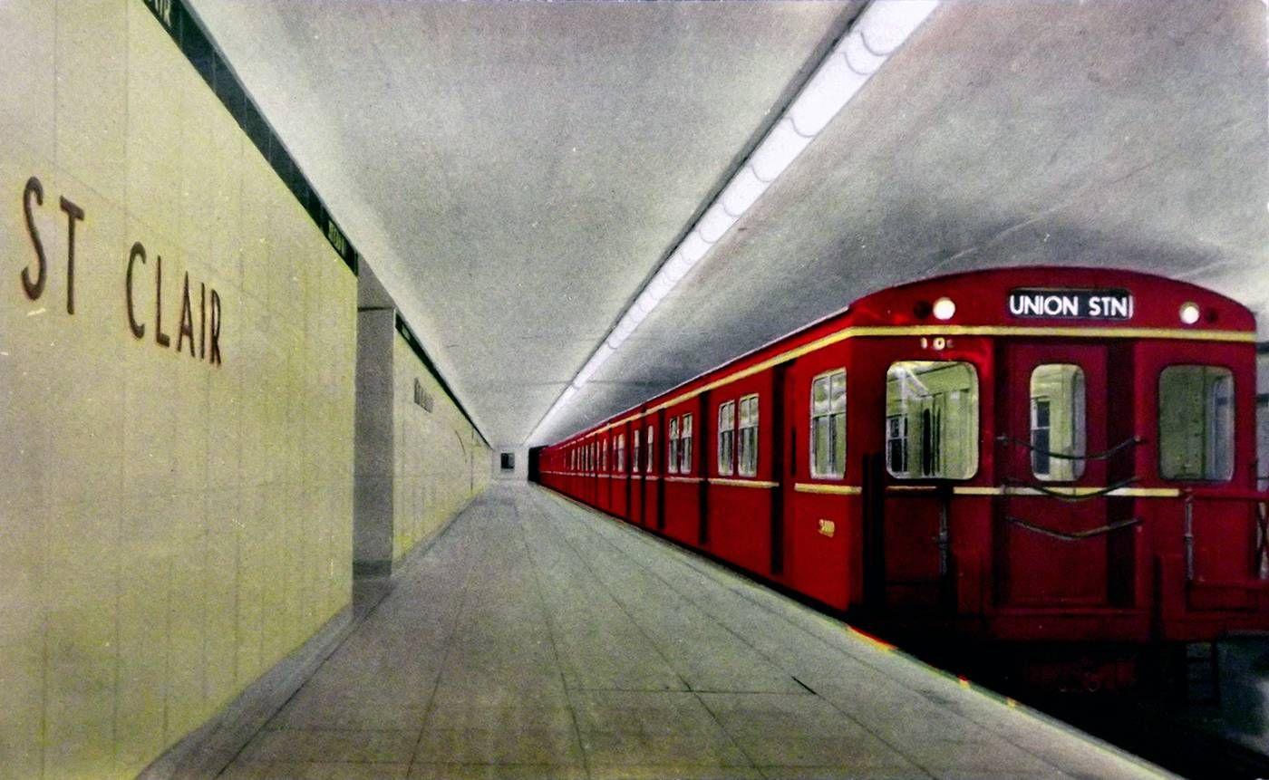 ttc 1960s toronto scenes in 2019 toronto subway canadian rh pinterest com