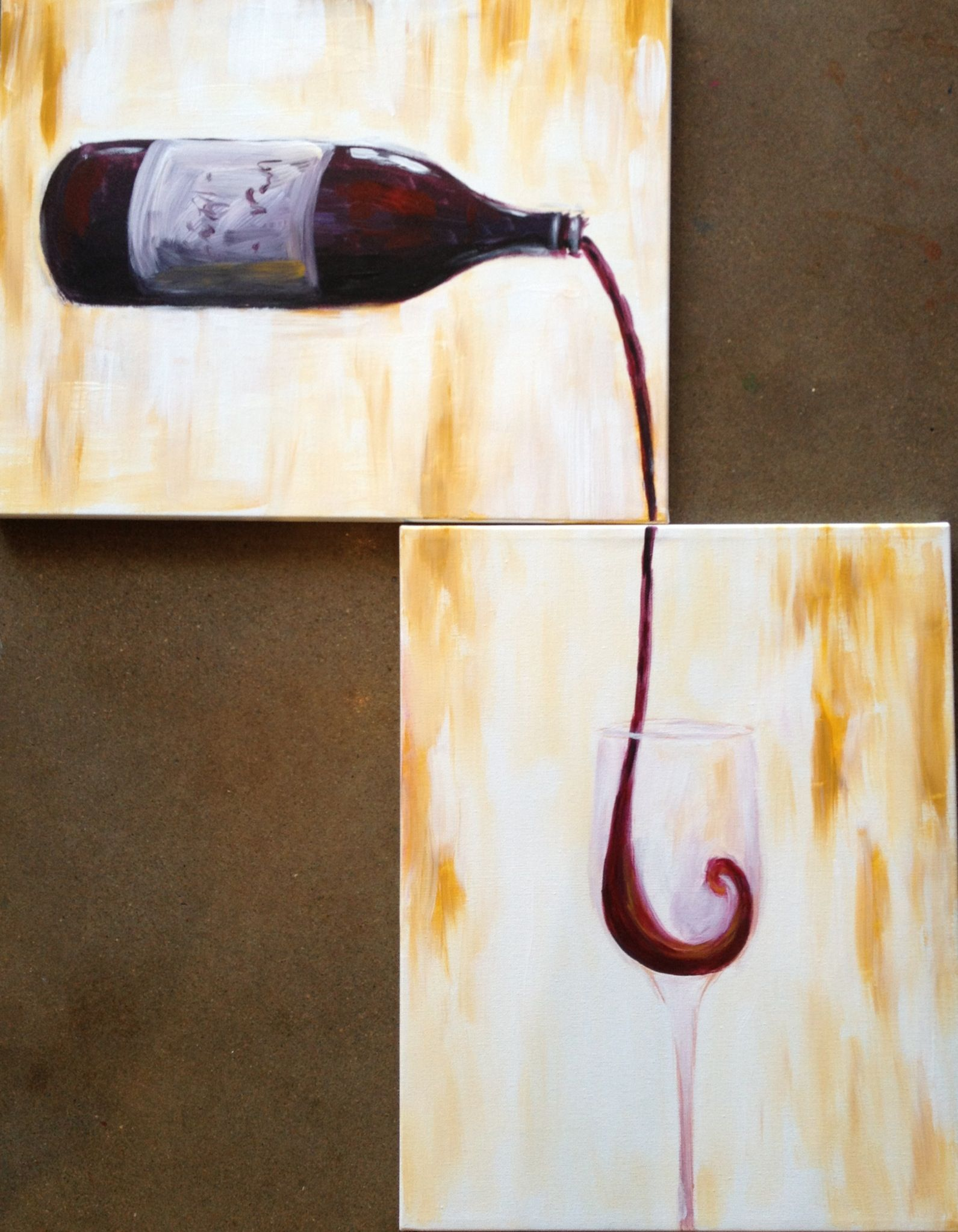 A couples paint night at pinots palette temecula is a fun and upscale date night whether its your first date or your anniversary