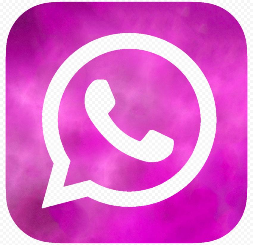 Hd Purple Smoke Whatsapp Wa Square Logo Icon Png Square Logo Logo Icons Logos