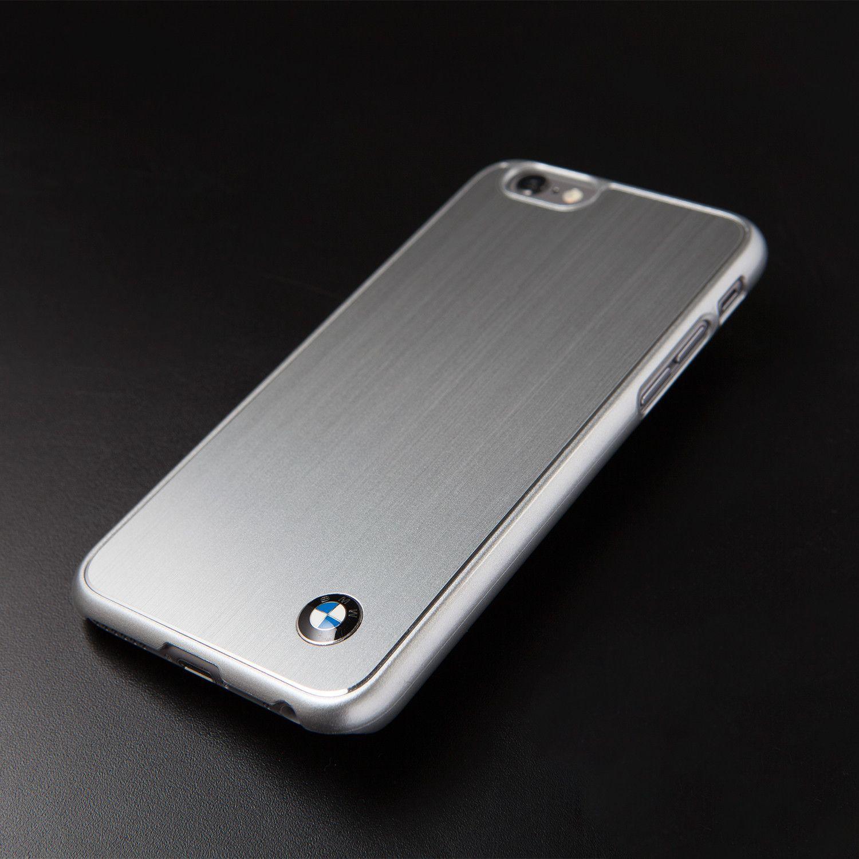 hard case brushed aluminum bmw logo iphone 6. Black Bedroom Furniture Sets. Home Design Ideas