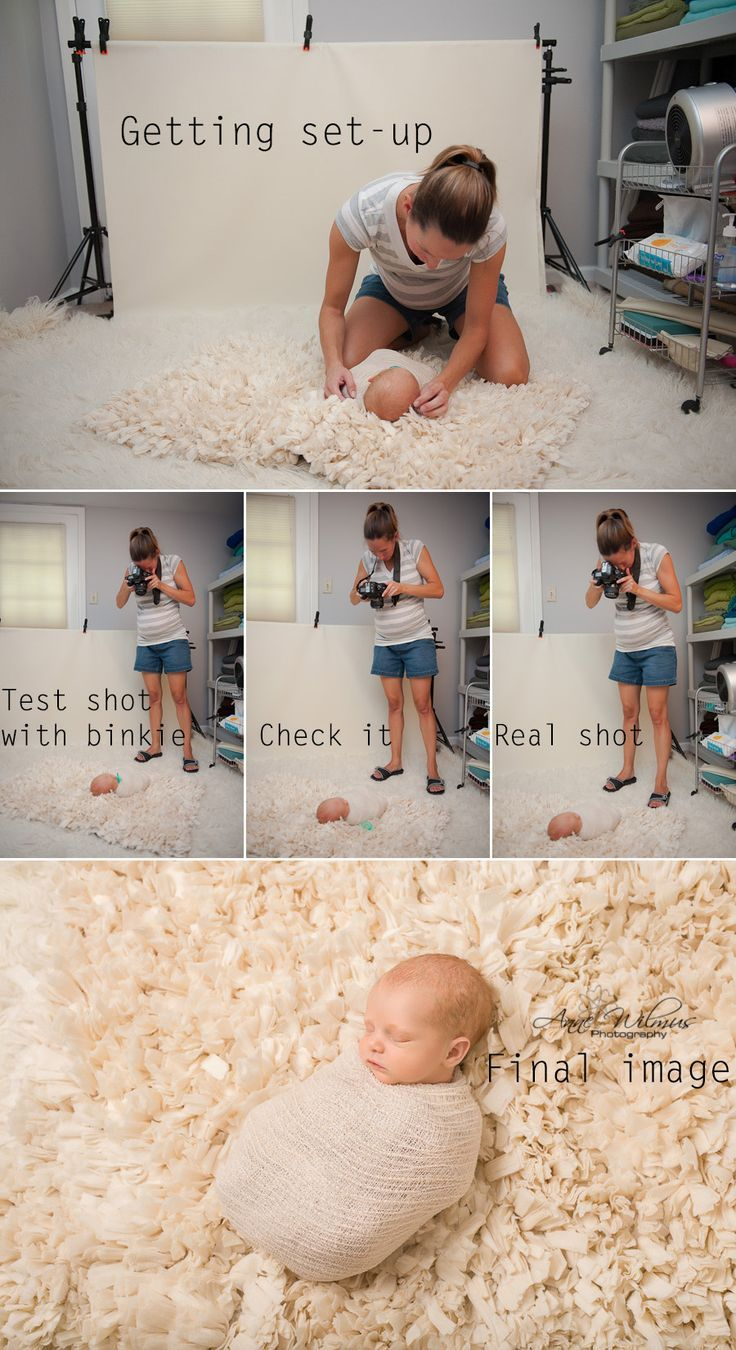 Behind the Scenes of Newborn Studio Photography with Anne Wilmus Pittsburgh Newborn Photographer: