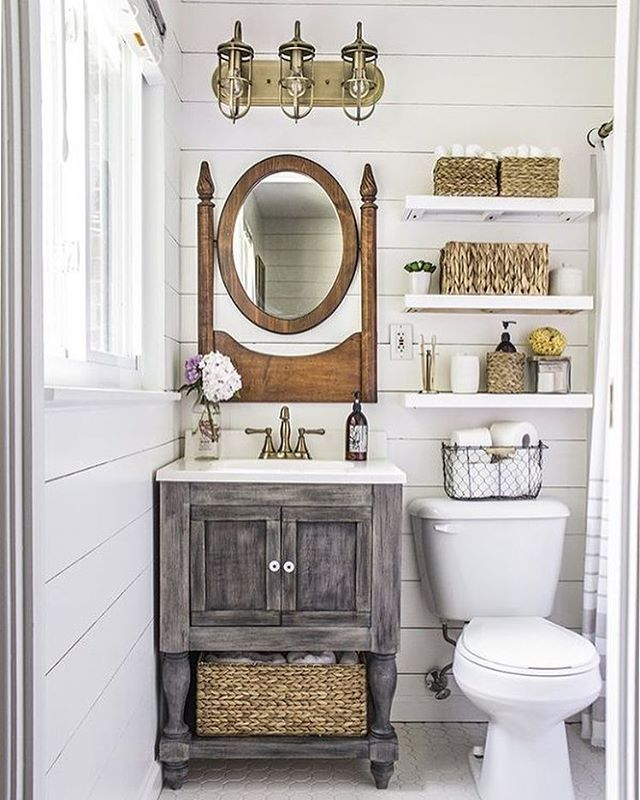 A Stunning Small Master Bathroom Makeover (and On A Budget!) Byu2026
