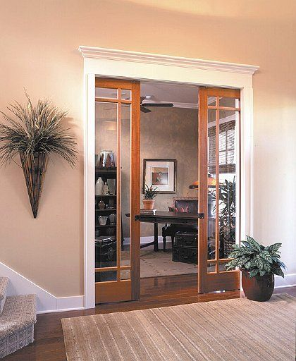 Converging Pocket Door Installation. Johnson 1500 Series Frames And  1555PPK3 Converging Door Kit Used. CLICK HERE FOR PROUDUCT DETAILS