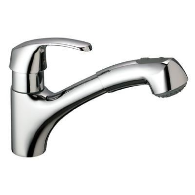 grohe 32 999 starlight chrome alira pullout spray kitchen faucet rh pinterest co uk