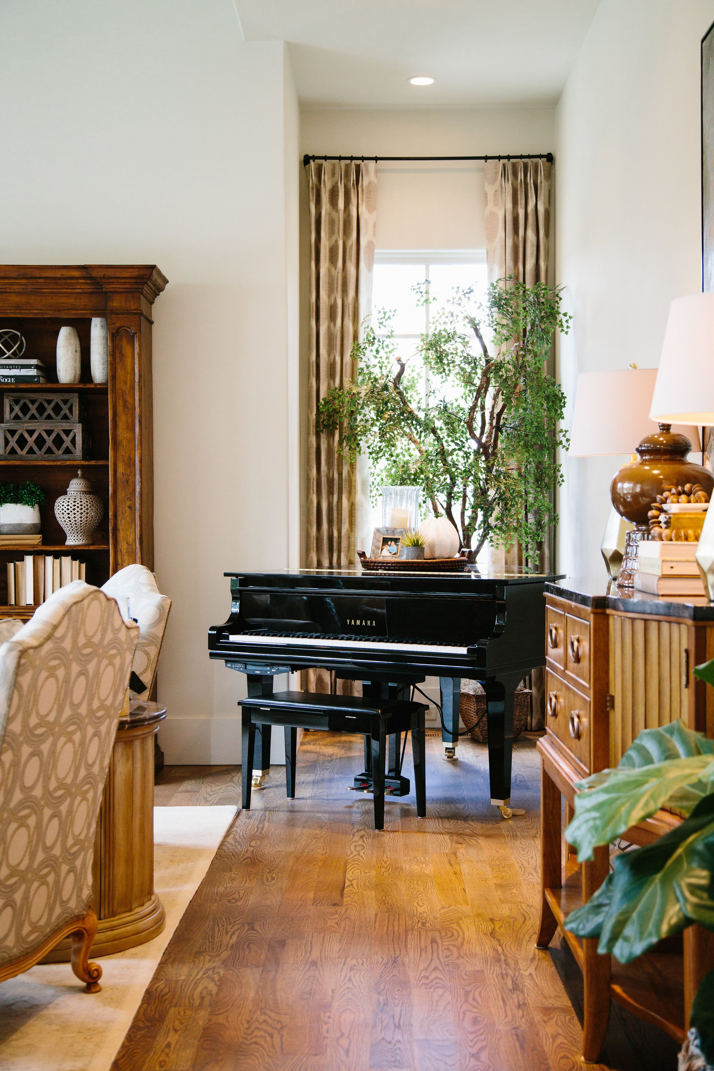 Even Something As Grand As A Baby Grand Piano Needs Accessori