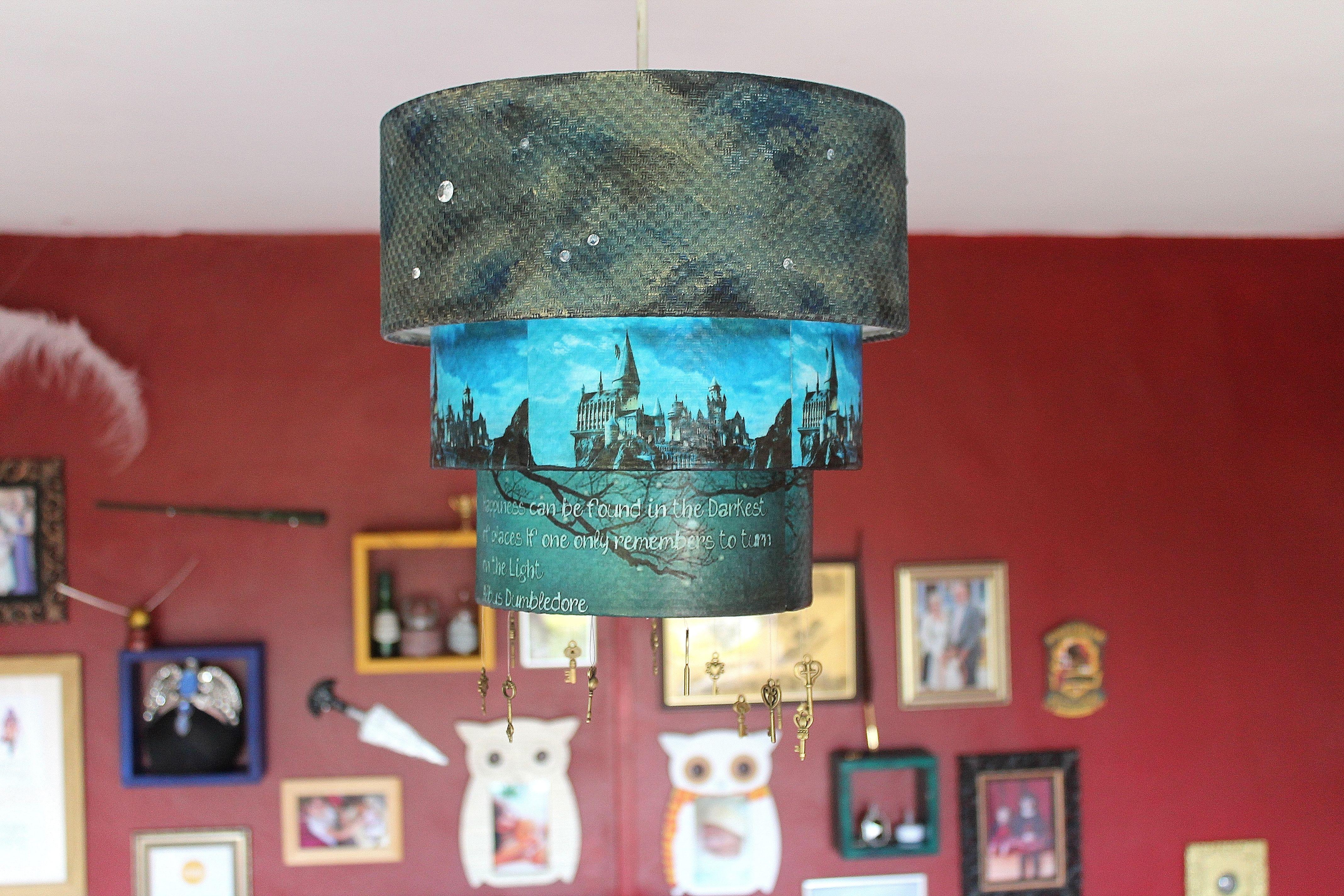 Harry Potter Bedroom Bellatrix Dagger Ravenclaw Hedwig