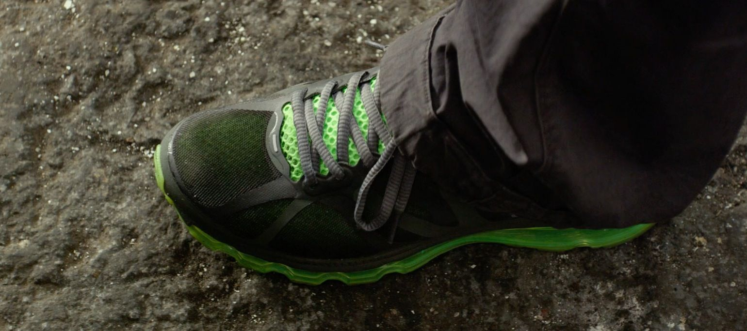 Max Air Kevin In Ride Blackfluorescent Green Nike By Worn Hart 2012 y8nwONmv0
