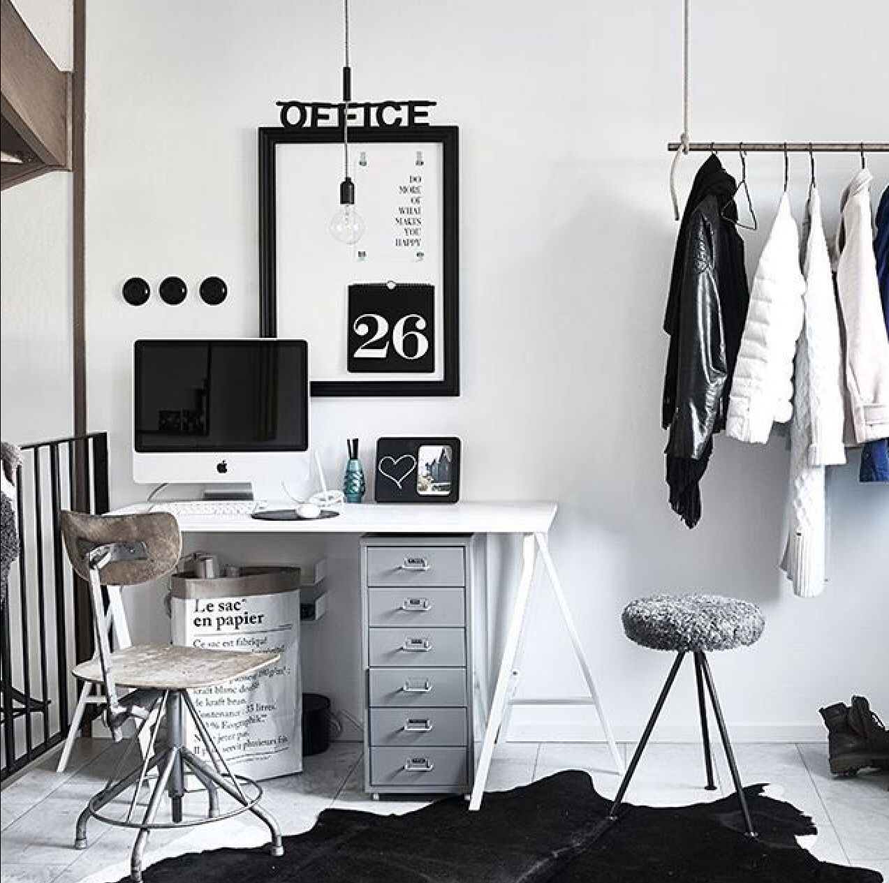 ikea 39 helmer 39 cabinet in grey 3 small flat in 2019. Black Bedroom Furniture Sets. Home Design Ideas