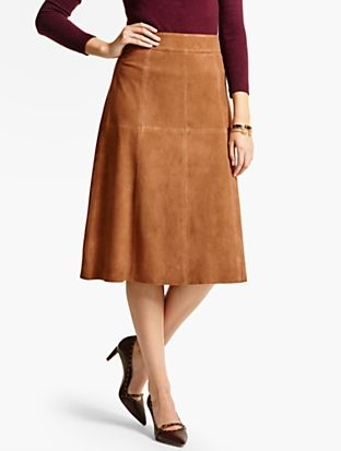 0d1b22c540 Talbots - Long Suede Skirt     Misses Discover your new look at Talbots.  Shop our Long Suede Skirt for stylish clothing and accessories with a  modern twist ...