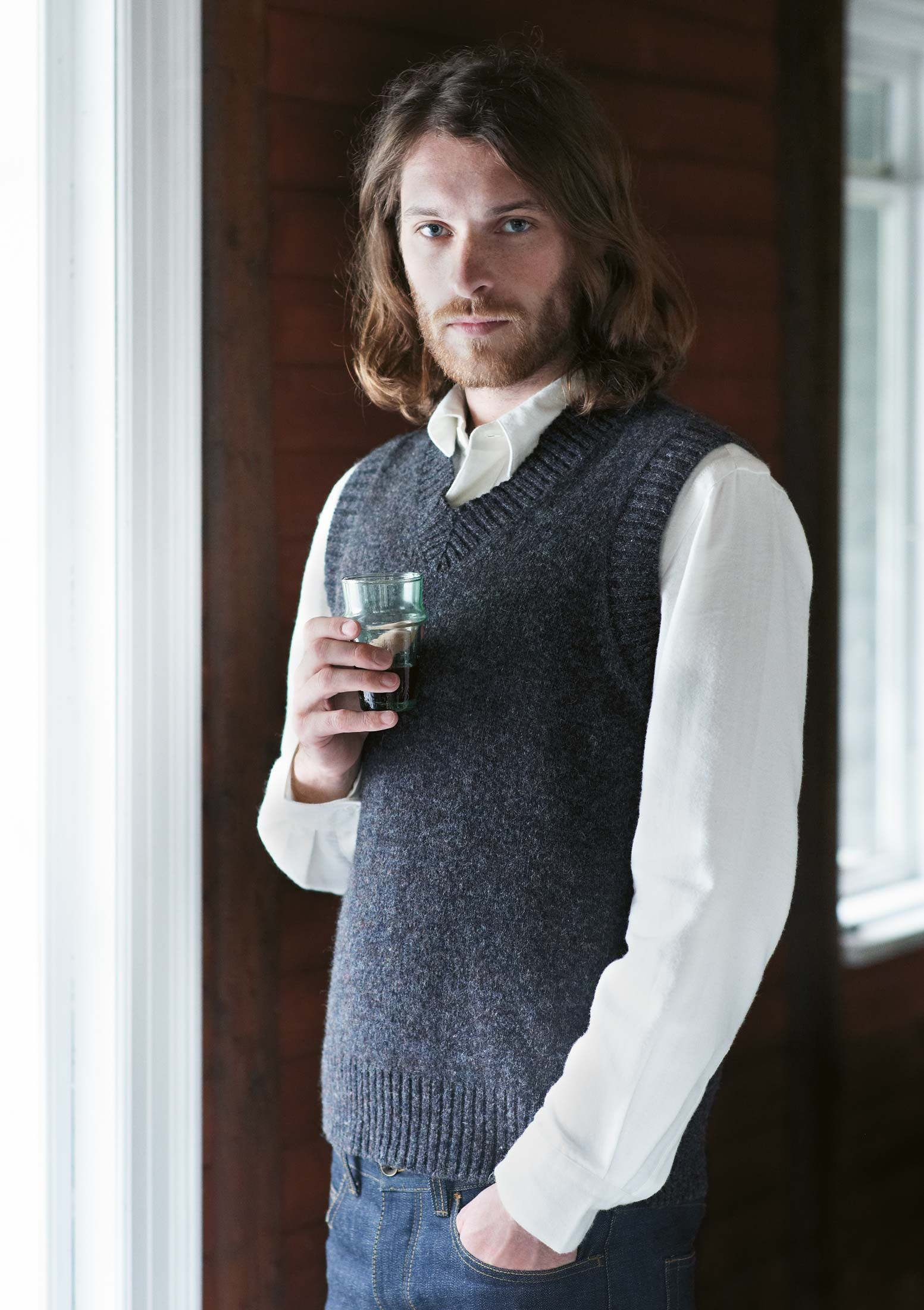 I want to make numerous sweater vests for Morgan... | Knitting ...