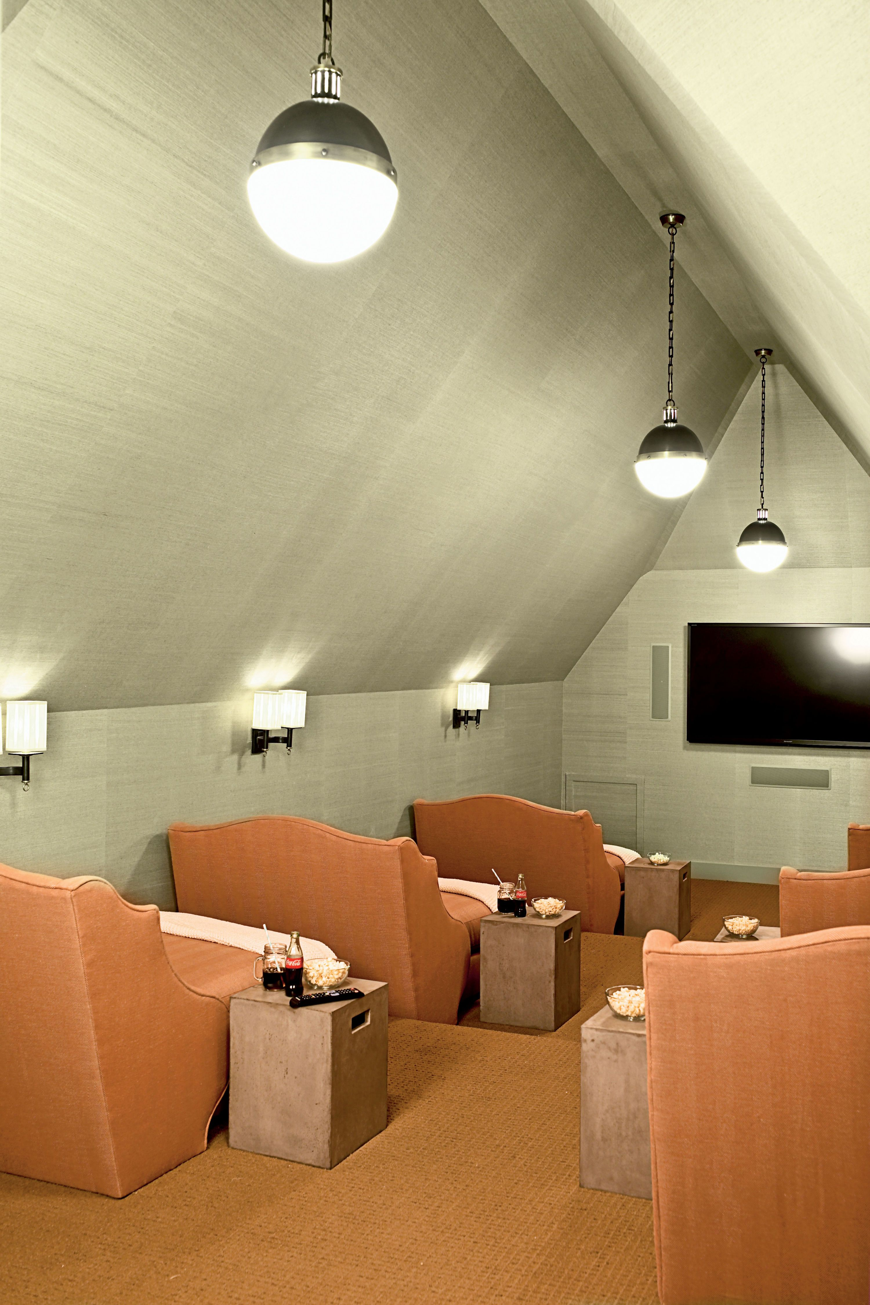 2012 Ultimate Beach House Room Tour Home Home Theater Rooms