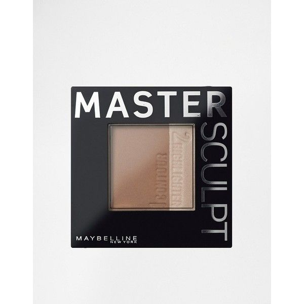 Maybelline Master Sculpt - Contour Palette (14 CAD) ❤ liked on Polyvore featuring beauty products, makeup, face makeup, tan, cosmetic bags, wash bag, make up bag, palette makeup and make up purse