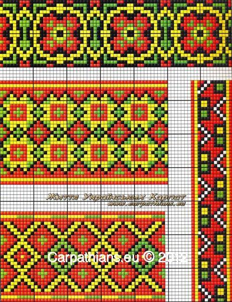 МОЯ ВИШИВАНКА  Узори гуцулів. Гуцульські орнаменти. Гуцульська вишивка від  Галини Михайлюк f4efa4138e451