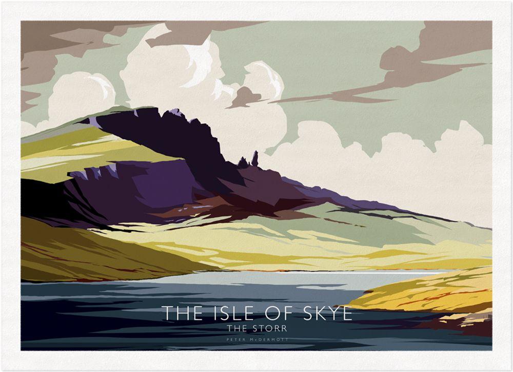 Peter McDermott - The Isle of Skye, The Storr - Print.jpg (1000×726)