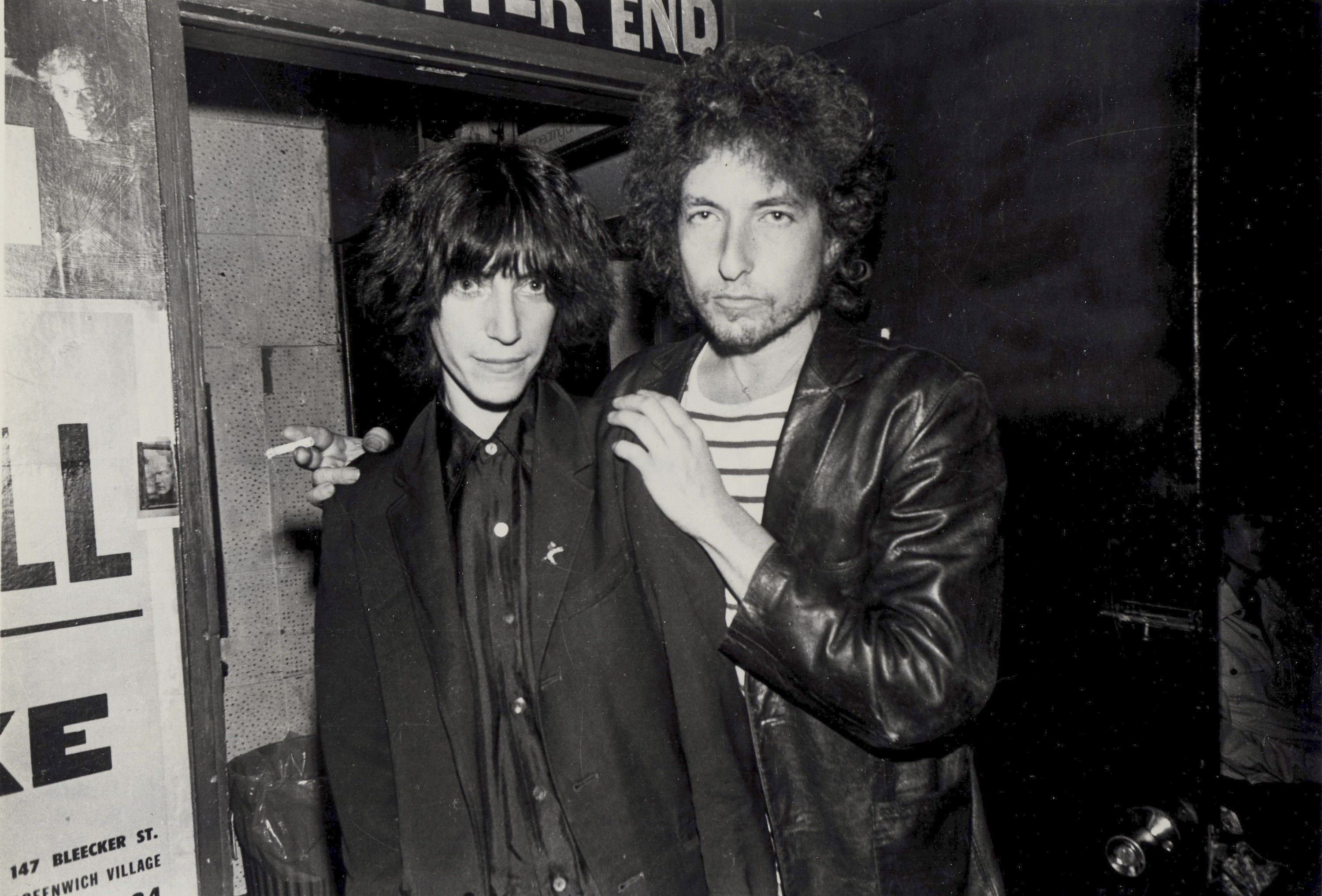 When Bob Dylan Practiced Downstairs With Images Patti Smith
