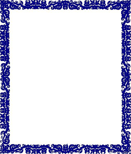 borders designs blue border design clip sdaf border design