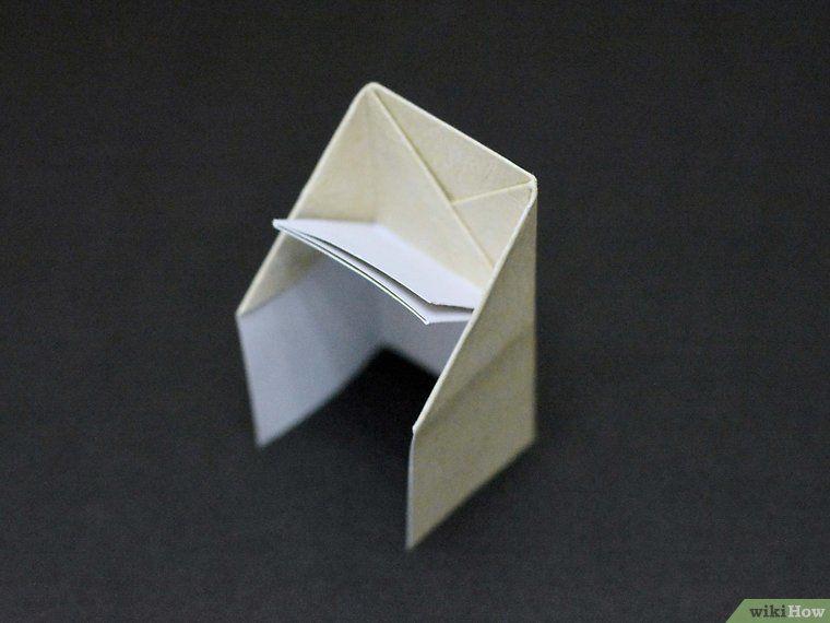 Make An Origami Chair Origami Chair Origami Cardboard Chair