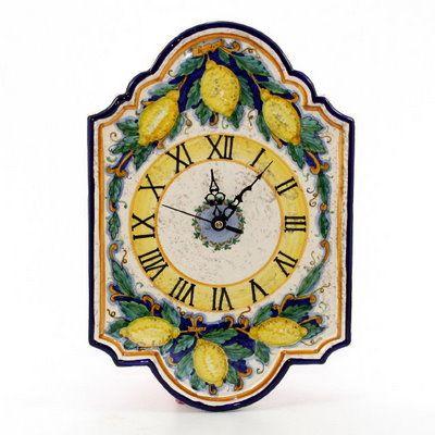 RUSTICA: Wall Clock1088-RUS | Artistica Italian Gallery, | Pinterest ...
