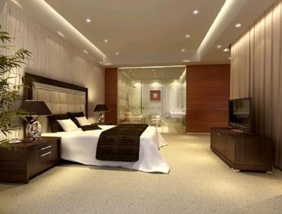Habitacion de hotel (maxDibujo 3D Studio MAX)