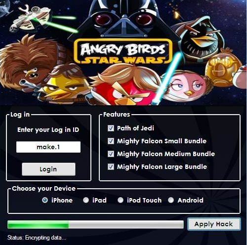 Angry Birds Star Wars Hack Tool And Cheats Generator Download