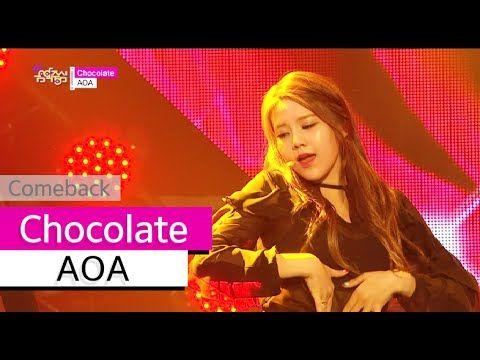 [Comeback Stage] AOA - Chocolate, 에이오에이 - 초콜릿, Show Music core 20150627