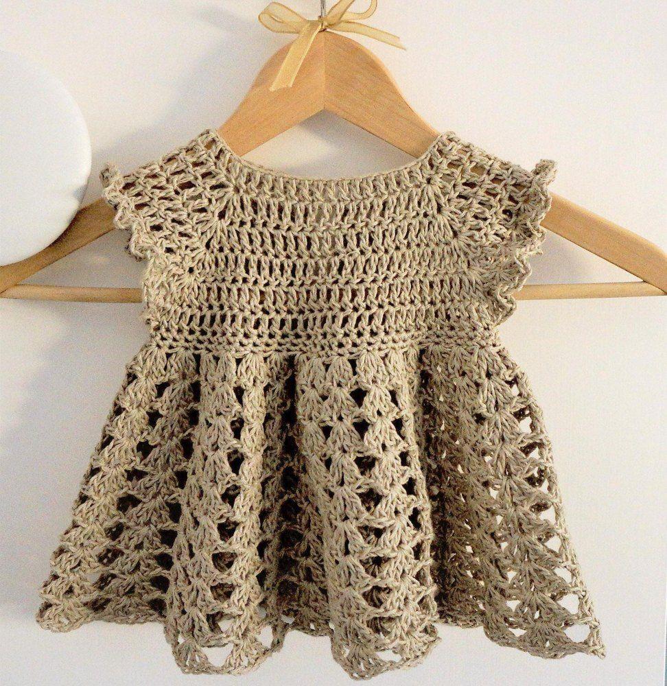 hand crochet baby cardigan size 6-12 Months Romany
