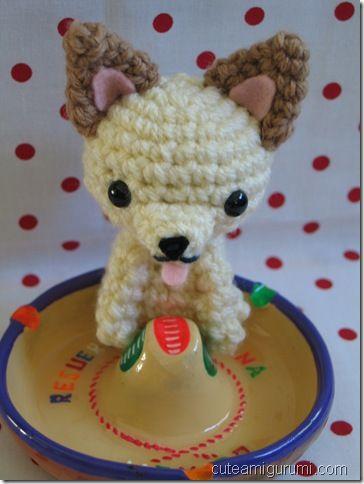 Free Dog Felt Ornament Patterns Free Crochet Pattern Chi Hua Hua