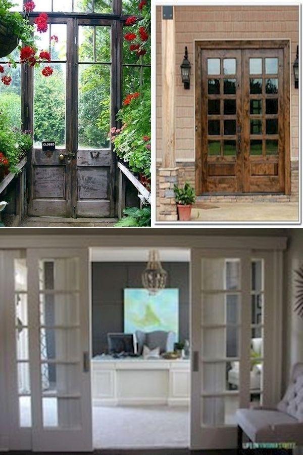 Photo of Double Pantry Doors | External Wooden Doors | 15 Panel Glass Interior Door