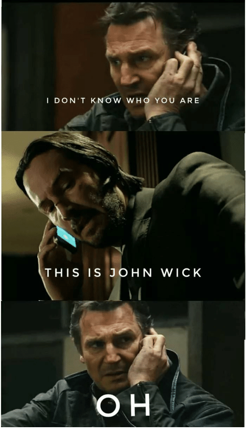 When You Realize Keanu Reeves Memes Are Being Replaced Google Search John Wick Meme Funny Memes John Wick Movie