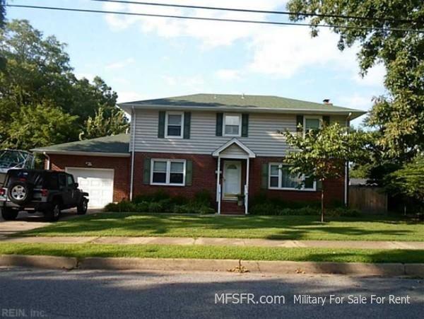 Home for sale near Little Creek Naval Amphibious Base, Virginia  4 Bed / 2.5 Bath