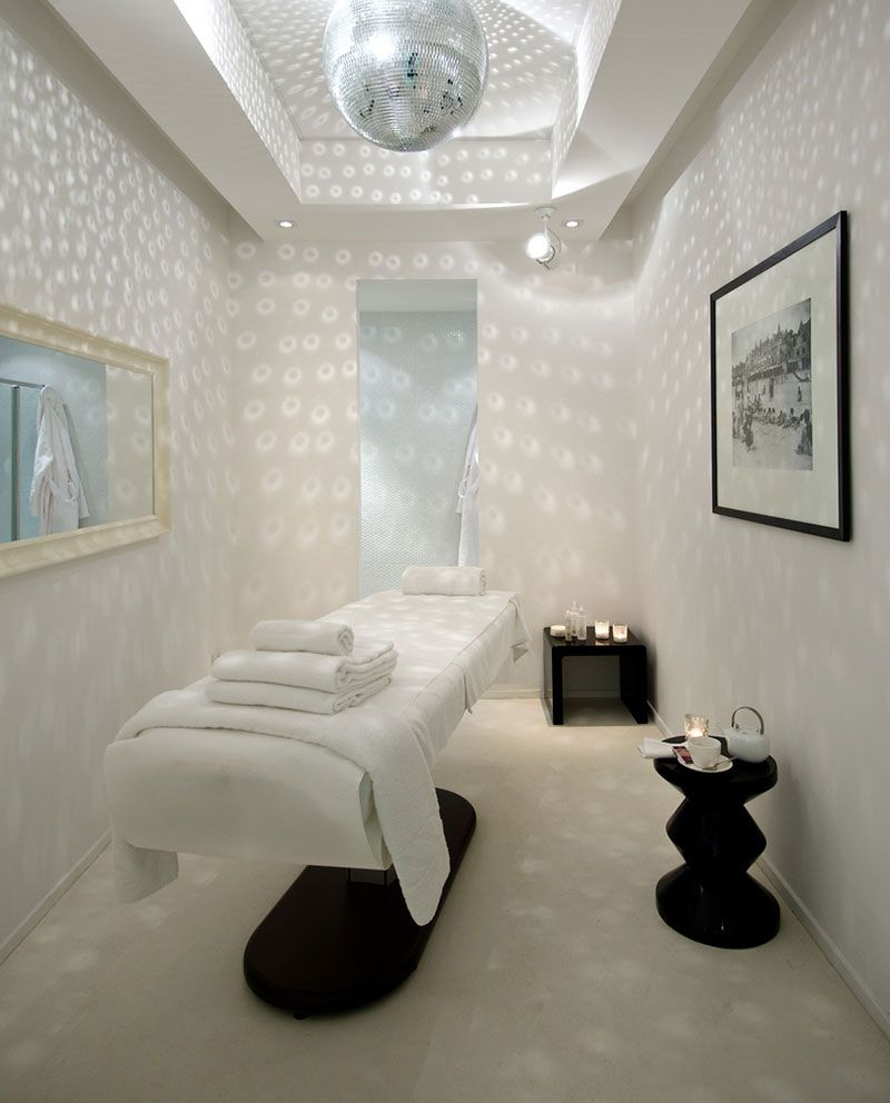 Salon Decoration Italie : Spa design luxury in coastal tuscany inside the